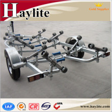 High quality inflatable boat trailer or folding boat trailer