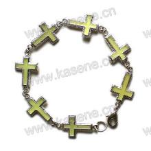 Fashion Metal Cross Bracelet