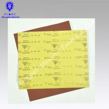 "wasserdichter Sandpapier des Aluminiumoxids rote Farbe 9 ""* 11"" P60"