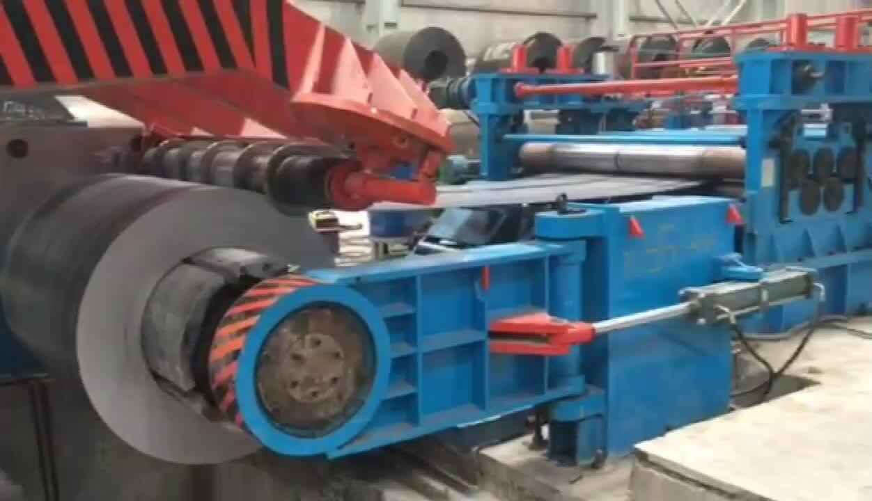 Thick Gauge Sheet Metal slitting machine