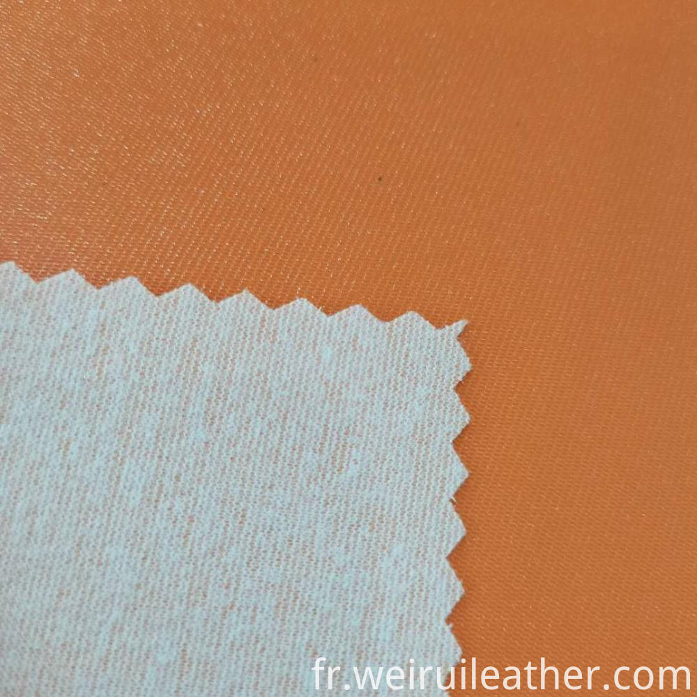 Dense Mesh Grain Pvc Leather
