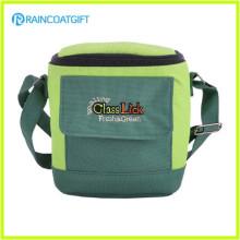Long Strap High Quality Canvas Wine Bottle Cooler Bag RGB-031
