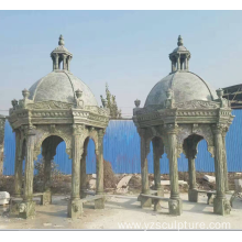 New Design Large Green Marble Gazebo For Sale