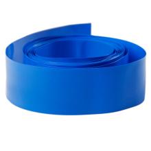 Tube bleu de rétrécissement de la chaleur de PVC d'isolation pour la batterie au lithium