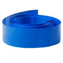 Синяя изоляция ПВХ термоусадочная трубка для батареи лития