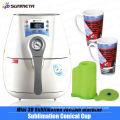 Mini Mug photo printing machine manufacturer ,3D heat printing machine
