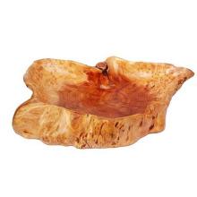 250PCS nouveau fabuleux sculpté bol en bois naturel panier racine vase
