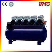 Бесшумный поршневой воздушный компрессор без смазки 4200W 180 л