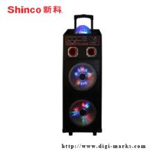 Gute Qualität Portable Bass Lautsprecher mit Bluetooth FM-Funktion