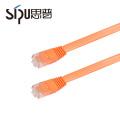 SIPU haute qualité câble couleurs cat6 plat pvc câble de cordon de raccordement
