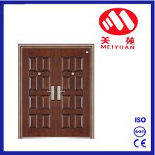 8 Panels Design Nonstandard Steel Entrance Door