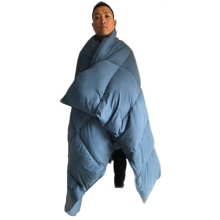 20D parachute nylon  water proof Down Blanket
