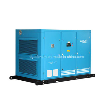 Lubricated Industrial Two Stage Air Cooled Screw Compressor (KF160-7II)