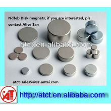 Strong Neodymium Disk Magnets for Clothing