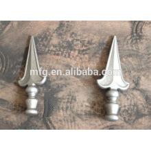 Boa qualidade ferro forjado e ferro fundido decorado portão esgrima ornamento