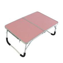 Novo design pequeno dobrável de alumínio computador mesa portátil mesa de piquenique