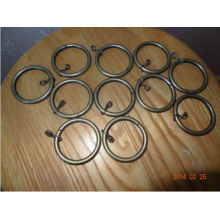 brass rod metal rings for curtains,eyelet for curtains,curtain accessory hardware drapery