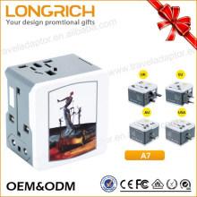 Regalo promocional al por mayor portátil plug pro adaptador