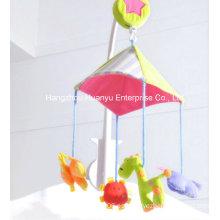 Fábrica de suministro de cama de bebé movimiento musical Hang Toy