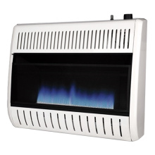 gas fireplace vs heater