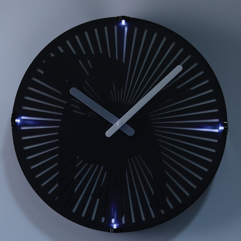 Motion Clock With Light