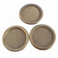 Disco de filtro de malla de alambre de pantalla de aire de 6 micras