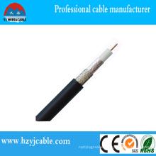 Radio Cable Rg58 Al/Copper/CCA/CCS or Braid Shield PVC Jacket