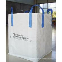Una bolsa de gran tonelada, Super Sank, FIBC para arena, cemento, material de construcción