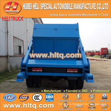 skip loader garbage truck arm swing sanitation vehicle trash truck 10cbm 190hp DONGFENG 4x2 new model garbage truck hot sale