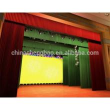 Chine fournisseur théâtre utilisé rideaux de scène à vendre