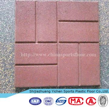Outdoor Basketball Court Gym Room Rubber Mat Rubber Tile