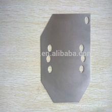 Customized Cutting 4mm Titanium Sheet Gr5 For Machinery