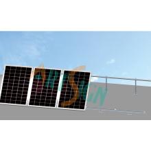 Supports de montage pour panneaux solaires-réglables pour toit plat