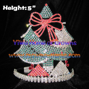 5inch Christmas Tree Shaped Christmas Crowns