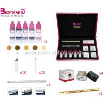Nouveaux kits de microblading de maquillage permanent Brow 3D avec pigments / lames microblading / stylo microblading