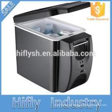 HF-600 DC 12 V Carro Geladeira AC 220 V / 110 V Auto Car Mini Carro Frigorífico Refrigerador Do Carro 7L 12L 18L 26L 32L 45L 50LCE)