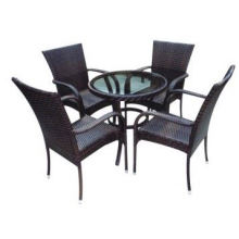 2013 Hot Sell High Quality white rattan outdoor furniture Bistro Set
