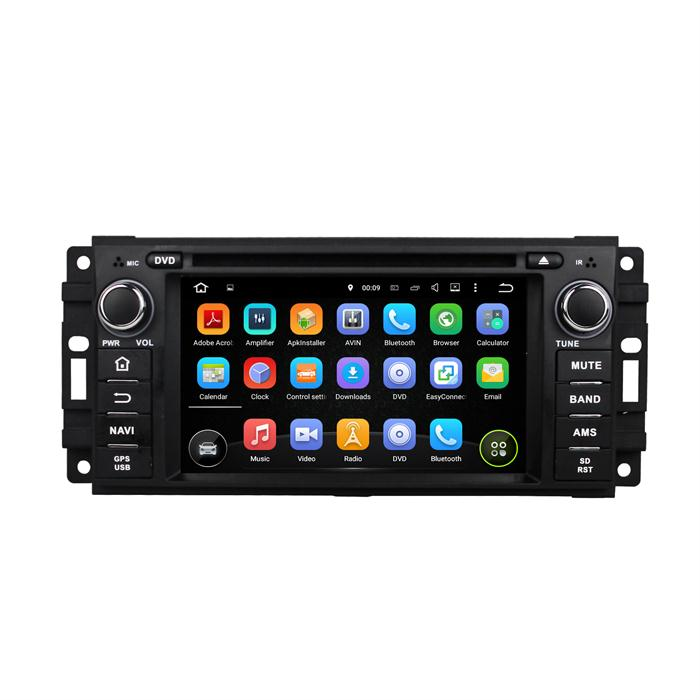 car mp4 player for Chrysler Jeep