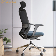 Newly Designed Comfortable Adjustable Chair Sillas Ergonomicas Black Mesh Ergonomic For Meeting Room Office High Back Chair