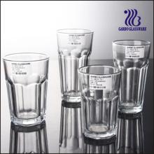 Verre à verre transparent et vasque à verre transparent (GB03017811)