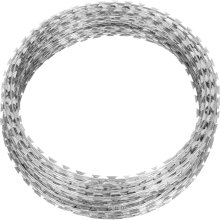 Tianjin Factory Manufacturer Military Concertina Razor Barbed Wire Mesh