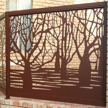 Laser Cut Fence Screens