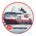 Customized Printed Badge with Ship Logo