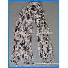 Best selling viscose printed long hijab scarf