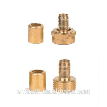 Brass hose junction