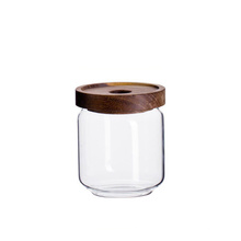 customized eco-friendly wide mouth glass jar for candy  storage jar containers for kitchen