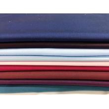 Tissu teint en fibre de bambou extensible