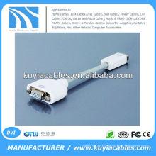 Adaptateur VGA vers Mini DVI Câble vidéo femelle à femelle pour MacBook