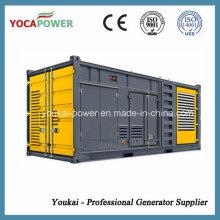 Cummins 400kw / 500kVA Tipo del envase Generador eléctrico de la energía con el motor 4-Stroke Buen rendimiento Generación diesel de la generación de energía