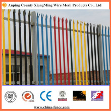 """High Quality """"W"""" """"D"""" Type Powder Coating Palisade Fence"""
